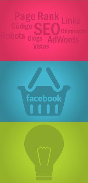 Otimização de sites - facebook - criação de site